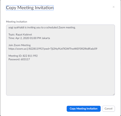Cara Membuat Jadwal Meeting di Zoom (Schedule A Meeting)
