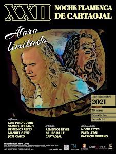 Cartel XXII Noche Flamenca