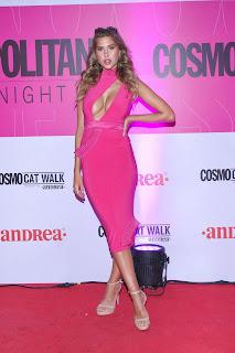 Kara Del Toro at Cosmopolitan Fashion Night Red Carpet in Mexico City