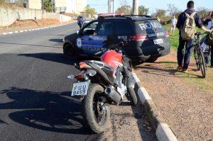 GCM apreende menor com moto roubada de Espírito Santo do Pinhal