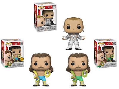 WWE Pop! Vinyl Figures Series 9 by Funko with Jake the Snake Roberts & The Heartbreak Kid Shawn Michaels