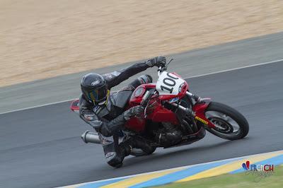Premiers tours de roue au Mans - Pierre Volpatti