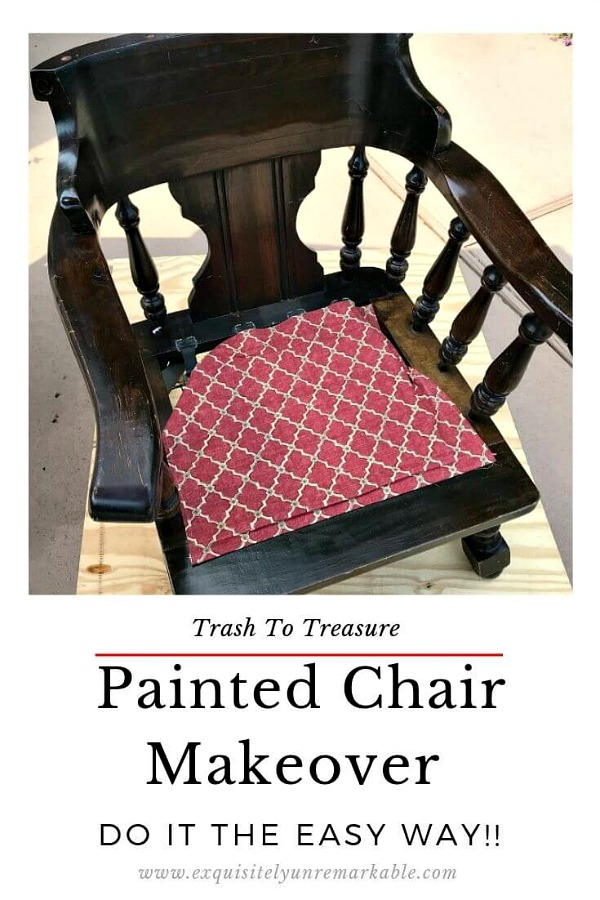 How To Paint A Wooden Chair The Easy Way