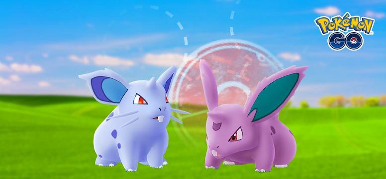 Pokémon GO Nidoran Macho e Fêmea
