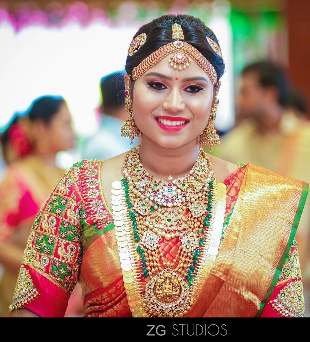 Indian Bride: South Indian Bride In Kundan Wedding Jewellery
