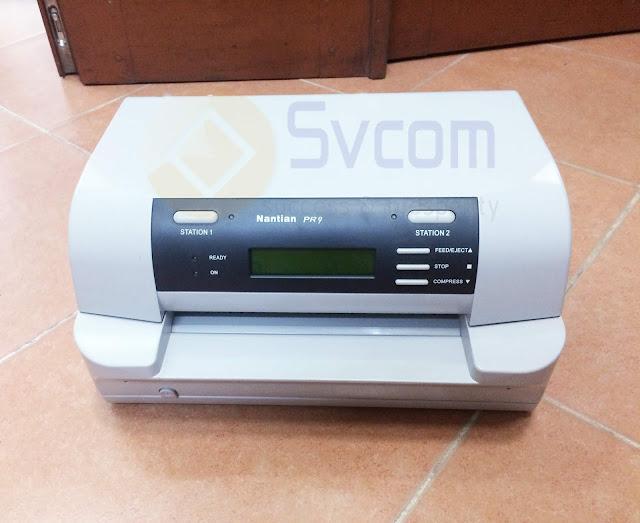 Nhà cung cấp máy in phiếu rút tiền Nantian PR9 cho ngân hàng Nông nghiệp