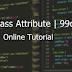 HTML Class Attribute | 99codes