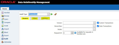 Oracle DRM (Data Relationship Management) Application Logs