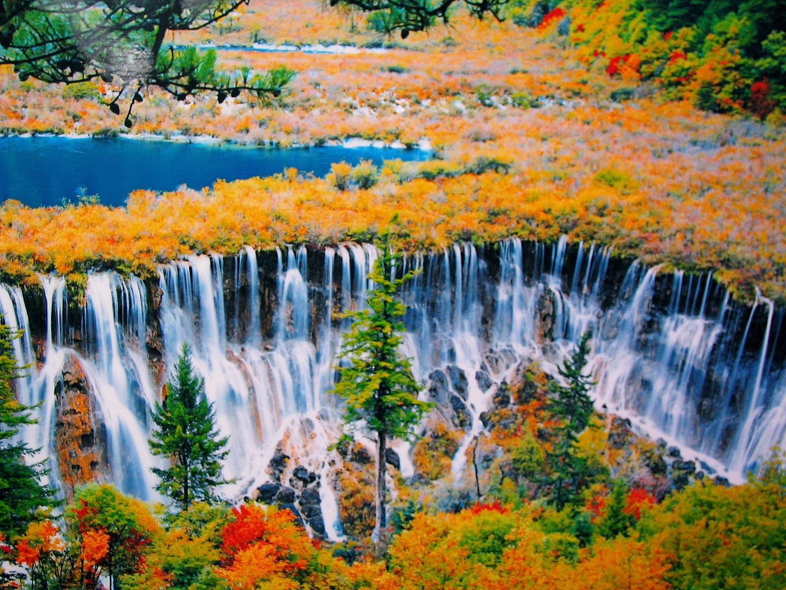 Valle de Jiuzhaugou, China 2