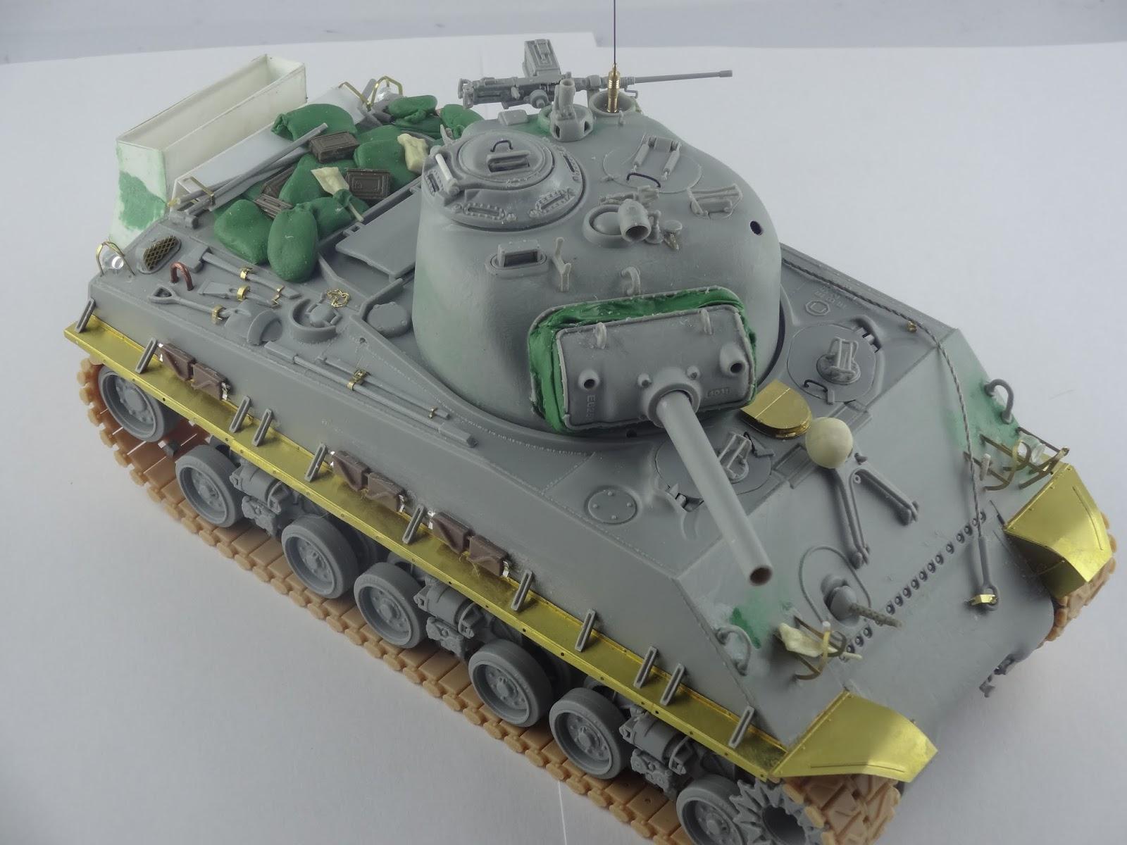 Pete 180 S Man Cave M4 Sherman 105 Hvss 713th Tank
