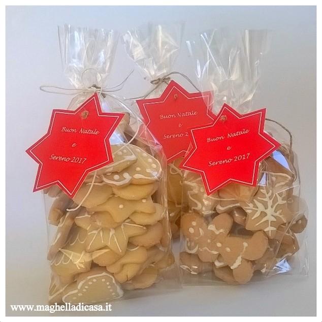 Estremamente Biscotti di Natale fai da te in confezione regalo | Maghella di casa SY12