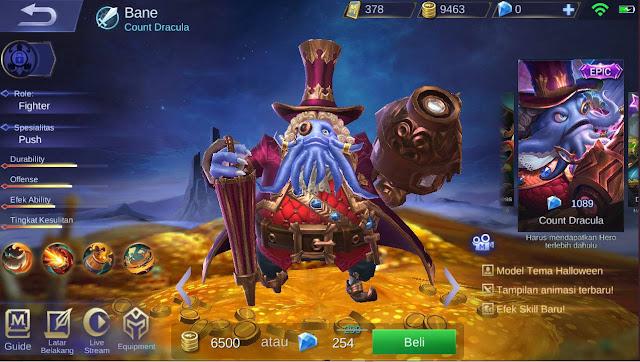 Cara Menjual Hero yang Sudah Dibeli di Mobile Legends