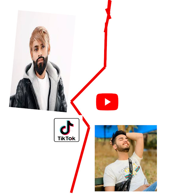 TIKTOK VS YOUTUBER  CONTROVERSY WHO IS THE WINNER OF DIGITAL CONTROVERSY