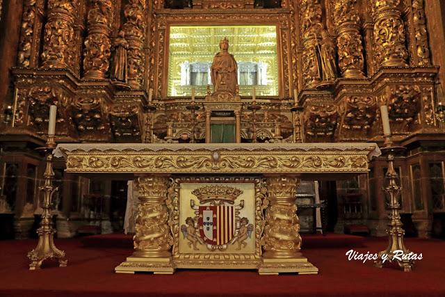 Retablo mayor del Monasterio de Santa Clara-a-Nova, Coimbra