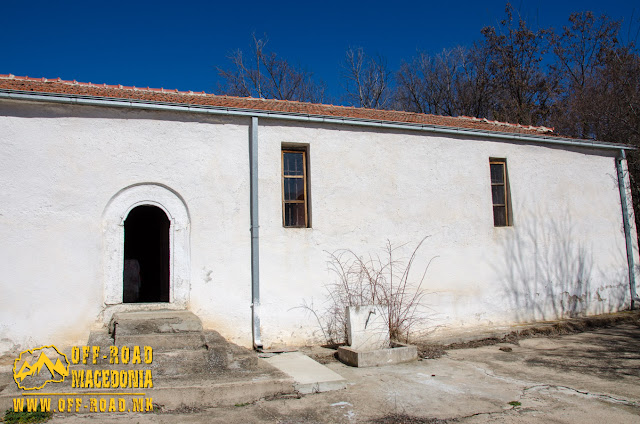 Entrance - St. Petka church in Skochivir village, Municipality of Novaci