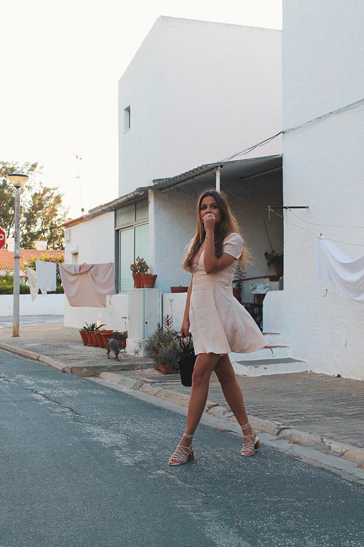 vestido rosa zara verano look blog moda