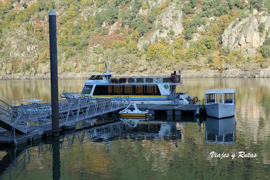 Catamarán río Sil, Ourense
