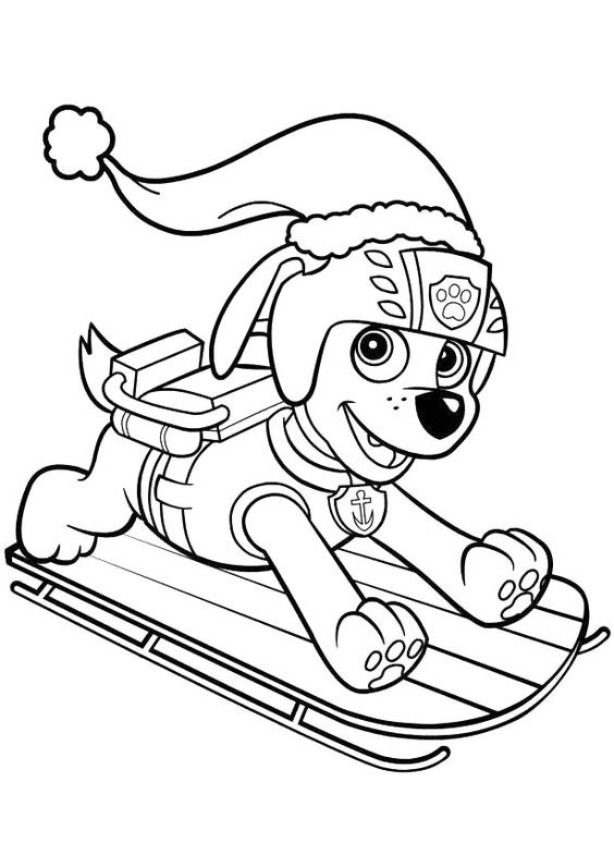 Paw patrol coloring pages 28