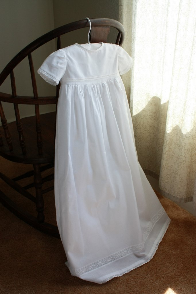 A Christening Gown For Julia Like Mother Like Daughter