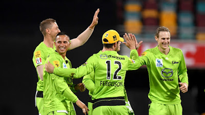 BBL 2019-20 THU vs HEA 25th T20I Match
