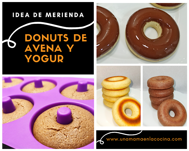 Donuts avena y yogur receta Una mamá en la cocina