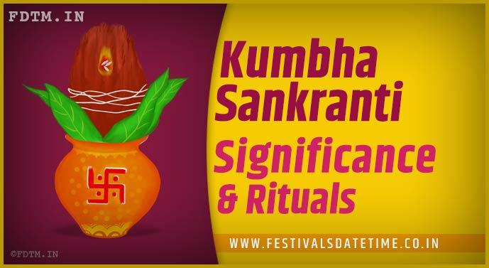 Kumbha Sankranti: Know the Rituals and Significance of Kumbha Sankranti