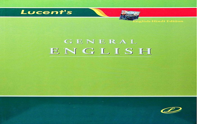 Book-PDF: Lucent's General English E-Book(Original Copy) - SSC Officer