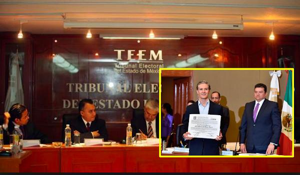 """TEEM desecha juicios de inconformidad contra resultado que da triunfo a Del Mazo; """"quejas son infundadas"""""""
