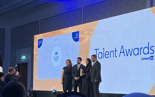 The Kanoo Group wins LinkedIn MENA Awards for Best Talent Acquisition Team and  finalist in Best Employer Brand