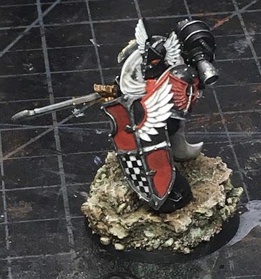 Horus Heresy Dark Angels Praetor WIP
