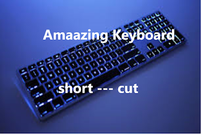 Most Nedded Keyboard Short Cut.