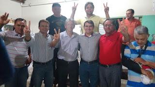 Em Picuí Olivânio e Ademar são escolhidos como pré-candidatos a prefeito e vice