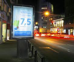 Citylight, affiche, lichtreclame, lichtborden, xxl