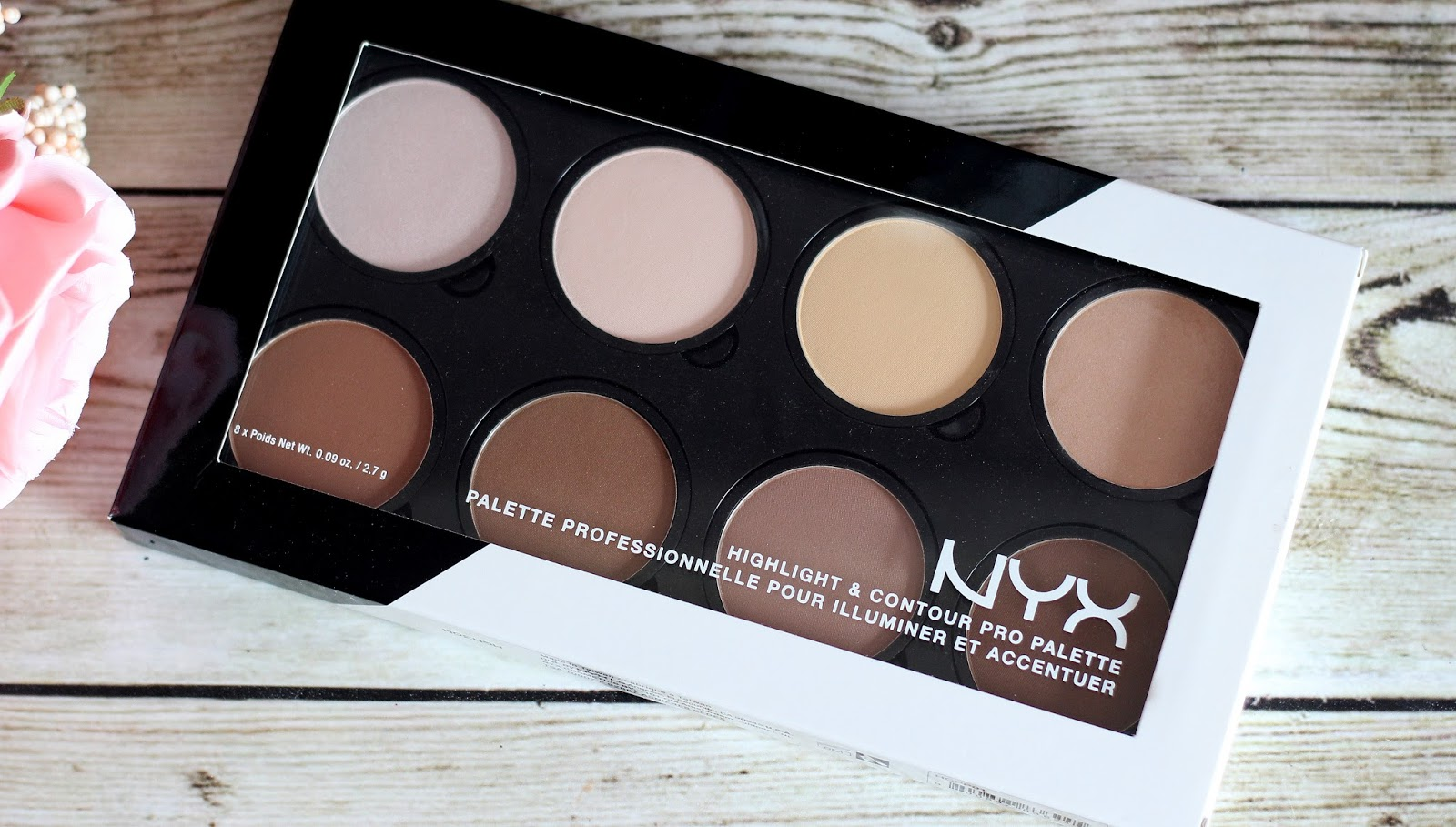 nyx highlight contour pro palette review swatches ivory beauty. Black Bedroom Furniture Sets. Home Design Ideas