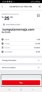GamesMAX Unlimited Play 30GB Di My telkomsel