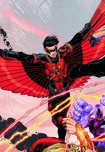 Tim Drake es miembro de la Batfamilia como Red Robin