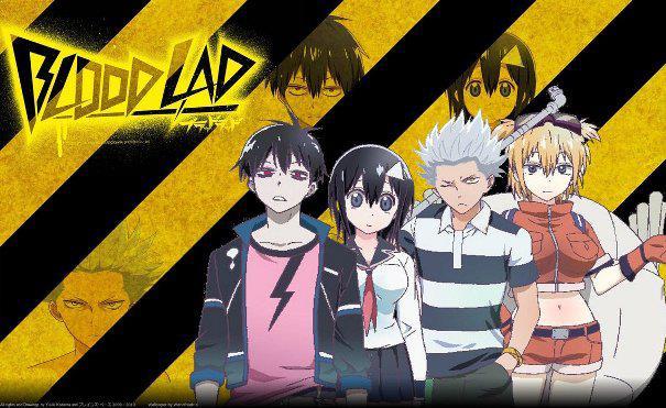 Blood Lad Daftar Anime Isekai Terbaik ( Tokoh Utama Masuk Dunia Lain )
