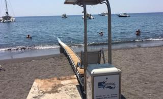 Σαντορίνη: Έδεσε το σκάφος του πάνω στη ράμπα για ΑμεΑ