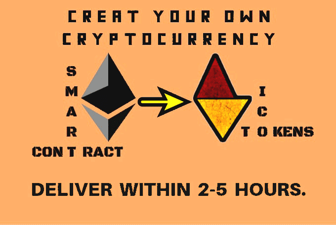 Create erc20 token to make your own cryptocurrency like Bitcoin (no verification)