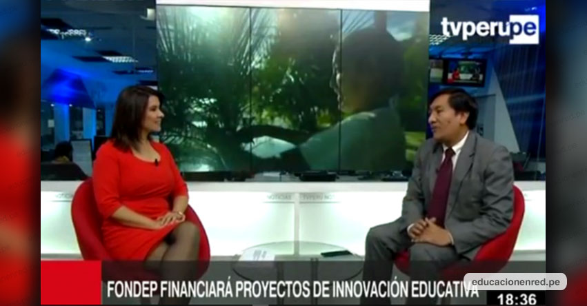 Necesitamos mostrar lo avanzando en proyectos de innovación para no repetir o reinventar, sostiene Juan Cadillo, presidente del FONDEP - www.fondep.gob.pe