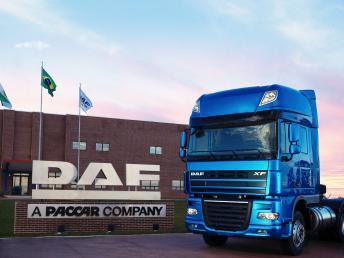 DAF Caminhões comemora 5 anos de operações no Brasil