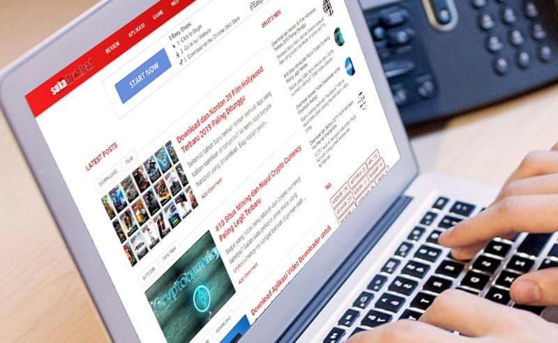 aplikasi blog
