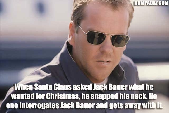 Jack Bauer Chloe Meme Speak of the Devil: Ne...