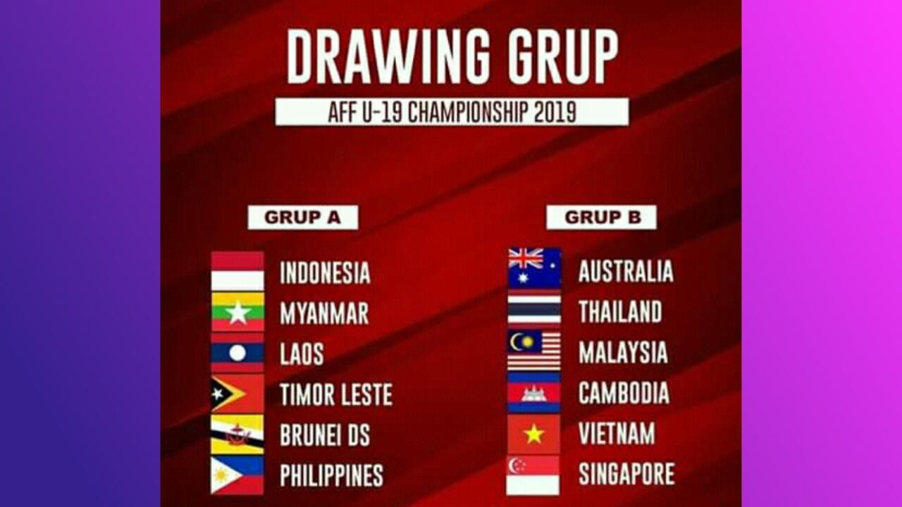 Stasiun TV Pemegang Hak Siar Piala AFF U18 2019