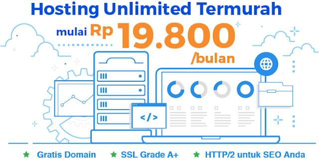 Harga Hosting Murah Niagahoster - Web Hosting Terbaik di Indonesia