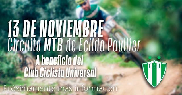 MTB en circuito de Ecilda Paullier (San José, 13/nov/2016)