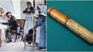 French doctor and inventor Rene Laennec invented the stethoscope because he was too shy to put his ear to a woman's chest