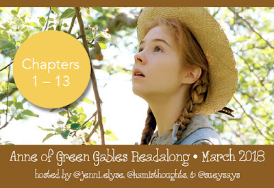 Anne of Green Gables Read Along: Chapters 1-13