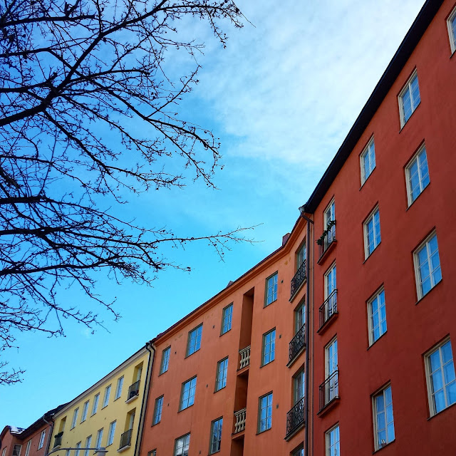 Stockholm apartment buildings  |  Giving birth in Sweden: Labor, delivery, and the cost  |  http://afeatherynest.com