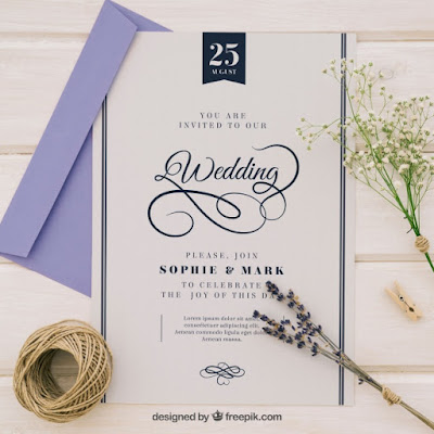 750 Gambar Desain Undangan Pernikahan Freepik HD Terbaru Download Gratis